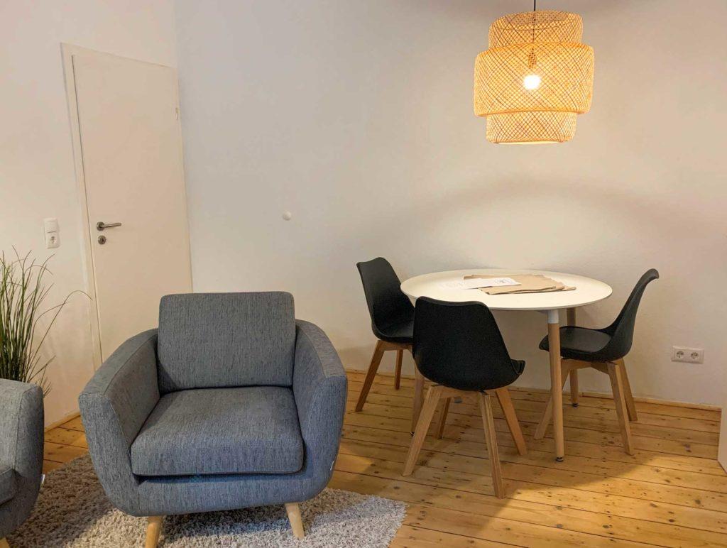 stay4business | Wohnen auf Zeit | voll moeblierte Wohnung in Mannheim | Essplatz