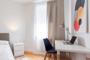 stay4business | Wohnen auf Zeit | voll moeblierte Wohnung in Mannheim | Arbeitsplatz