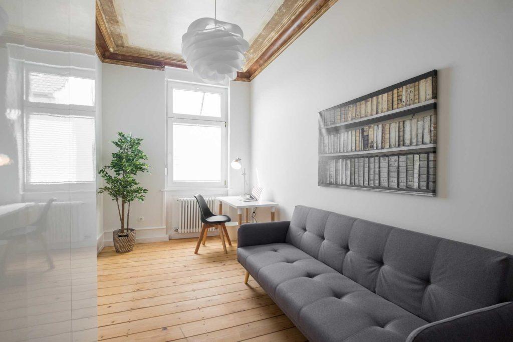 stay4business | Wohnen auf Zeit | voll moeblierte Wohnung in Mannheim | Homeoffice