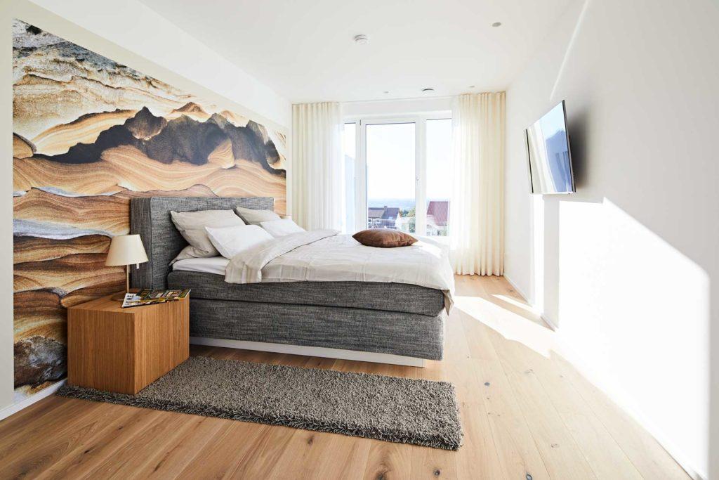 stay4business   Wohnen auf Zeit   voll moebliertes Haus in Nussloch   Schlafzimmer