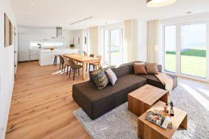 stay4business   Wohnen auf Zeit   voll moebliertes Haus in Nussloch   offener Wohnraum
